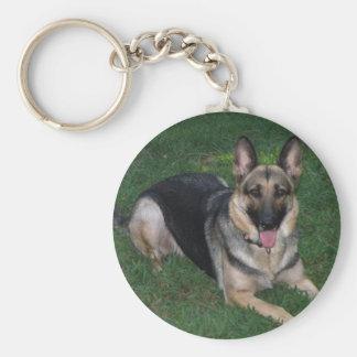 Schäferhund-Hund Keychain Schlüsselanhänger