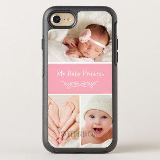 Schaffen Sie Ihre eigene Baby-Foto-Collage OtterBox Symmetry iPhone 7 Hülle