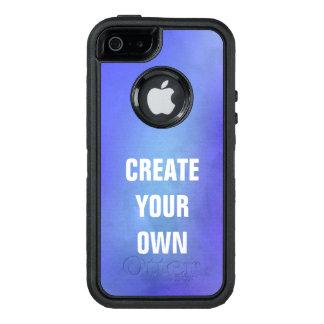 Schaffen Sie Ihre eigene blaue Aquarell-Malerei OtterBox iPhone 5/5s/SE Hülle