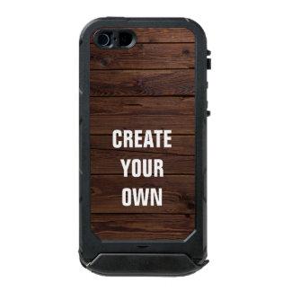 Schaffen Sie Ihren eigenen hölzernen Boden-Blick Incipio ATLAS ID™ iPhone 5 Hülle