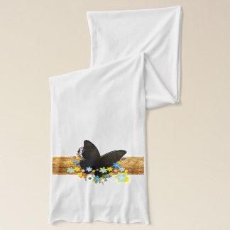 Schal der Schmetterlings-Kunst-25