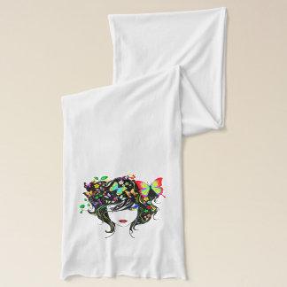 Schal des Schmetterlings-Mädchen-1