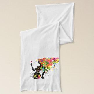 Schal des Schmetterlings-Mädchen-4