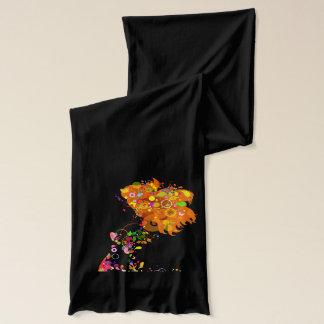 Schal des Schmetterlings-Mädchen-5A