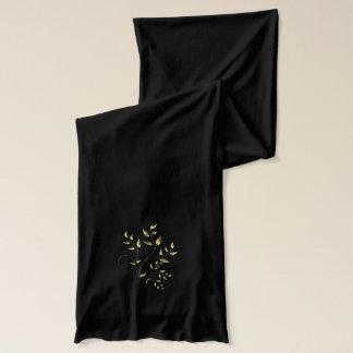 Schal--Messing-Blätter Schal