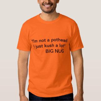 """Schalter - """"nicht eine Kiffer"""" großes Nug T-shirts"""