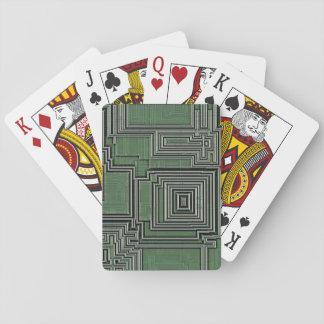Schaltkreis-Karten Spielkarten