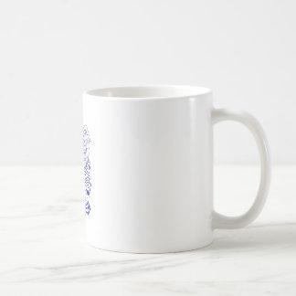 Scharf-shinned Falke-marschierendes Zeichnen Tasse