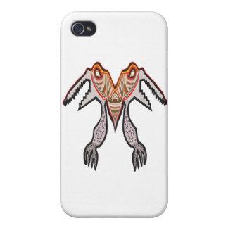 Scharfe Zähne zwei mouthed TARABORA alien Schutzhülle Fürs iPhone 4