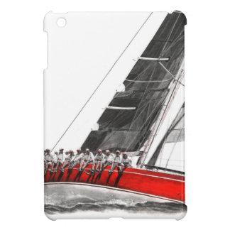 Scharlachrot Oyster.jpeg iPad Mini Hülle
