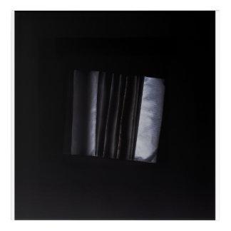 Schatten. Helle und dunkle Harmonie Acryl Wandkunst