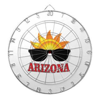 Schatten von Arizona ja Dartscheibe