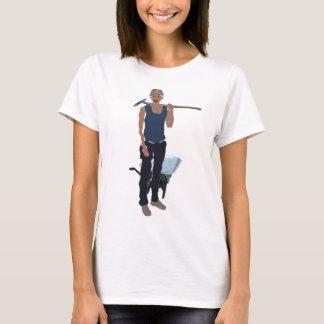 Schaufel-Archäologie-Trägershirt T-Shirt