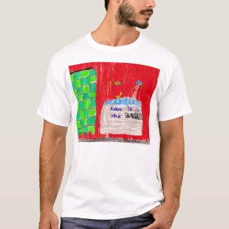 Schaumbad-Liebe, entworfen durch Raben T-Shirt
