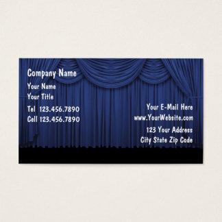 Schauspieler-Entertainer Visitenkarte
