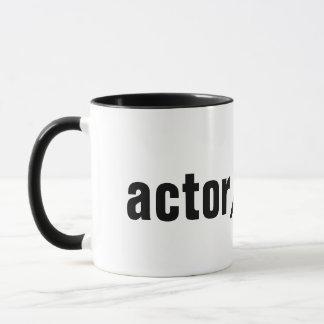 Schauspieler Tasse