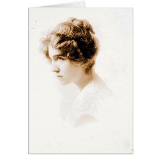 Schauspielerin Julie Herne c1900 Karte