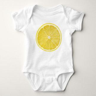 Scheibe der Zitrone Baby Strampler