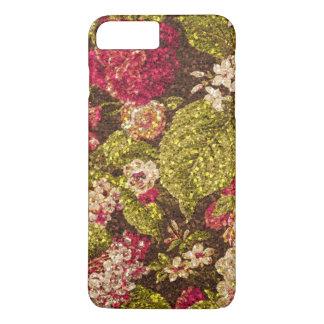 Schein-Effekt-Blumenbrokat iPhone 8 Plus/7 Plus Hülle