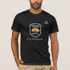 Scheitel FWFL T-shirt schwarz