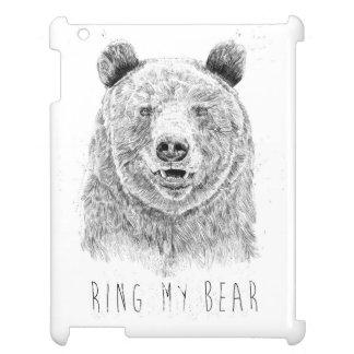 Schellen Sie meinen Bären (bw) iPad Hülle