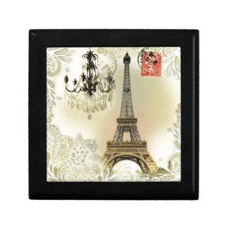 Schicker girly Eiffelturm Paris der französischen Erinnerungskiste