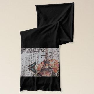 schicker Zeitungsdruckfranzosen Paris-Eiffelturm Schal