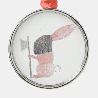 Schicksals-Häschen Silbernes Ornament