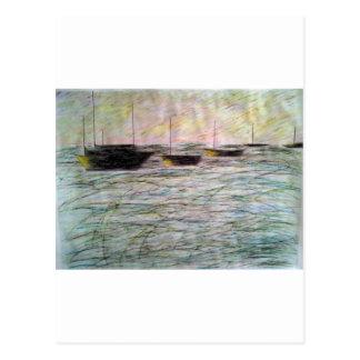 Schiff von Soulen Postkarte