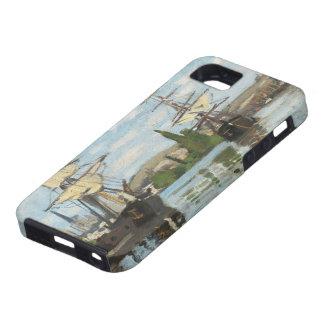 Schiffe Claude Monets  , die auf die Seine in iPhone 5 Schutzhülle