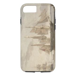 Schiffe in Hafen, 1805 (Öl auf Leinwand) iPhone 8/7 Hülle