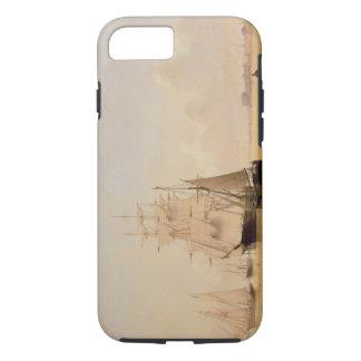 Schiffs-Malerei (Öl auf Leinwand) 2 iPhone 8/7 Hülle
