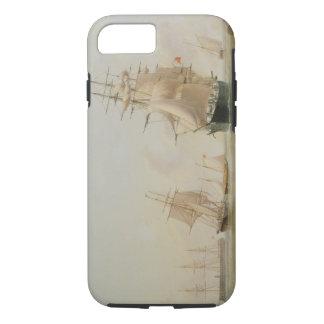 Schiffs-Malerei (Öl auf Leinwand) iPhone 8/7 Hülle