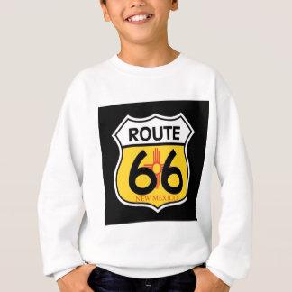 Schild des New Mexiko-Weg-66 Sweatshirt