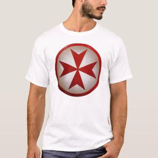 Schild Templar Quert-stück T-Shirt