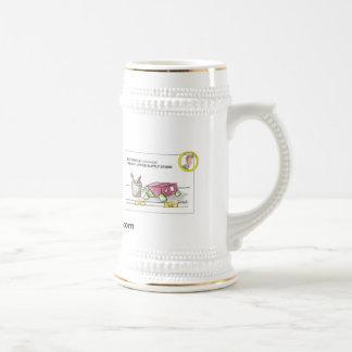 Schildkröte-Kaffee Stein Bierglas