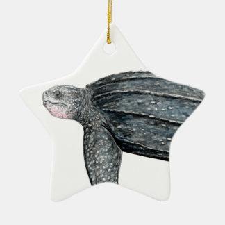Schildkröte laúd keramik Stern-Ornament
