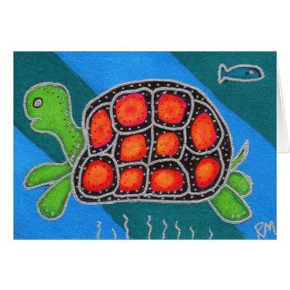Schildkröte Super Karte