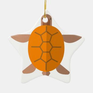 Schildkröte von der oben genannten ursprünglichen keramik Stern-Ornament