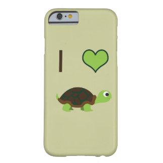 Schildkröten des Herzens I Barely There iPhone 6 Hülle