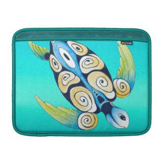 Schildkrötetürkis aquamarin sleeve fürs MacBook air