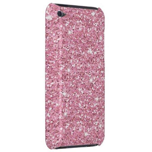 Schillernder Bubblegum Glitter iPod Touch Case-Mate Hülle
