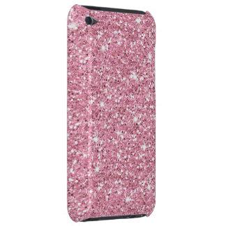 Schillernder Bubblegum Glitzer iPod Touch Case
