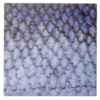 Schimmernde Lachse Große Quadratische Fliese