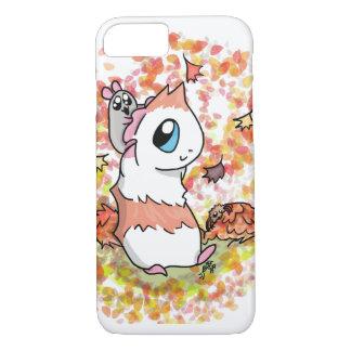 Schinken und Piggy Herbst iPhone 8/7 Hülle