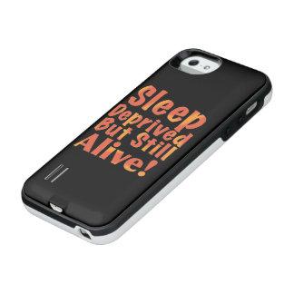 Schlaf beraubt aber noch lebendig in den iPhone SE/5/5s batterie hülle