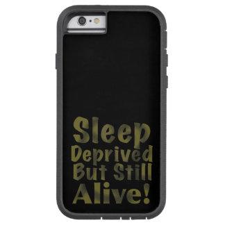 Schlaf beraubt aber noch lebendig in den tough xtreme iPhone 6 hülle