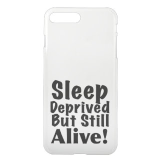 Schlaf beraubt aber noch lebendig iPhone 8 plus/7 plus hülle