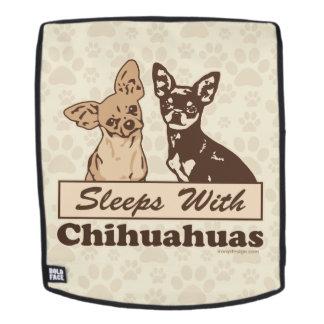 Schlaf mit Chihuahua Rucksack