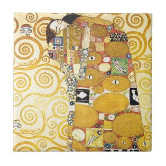 Schlafende Dame Ceramics Gustav-Klimt Fliese